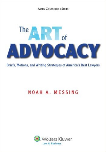 The Art of Advocacy Book